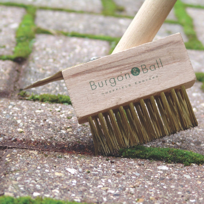 BURGON & BALL  Short Handled Miracle Block Paving Brush