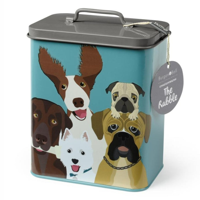 BURGON & BALL Creaturewares Dog Food Tin -