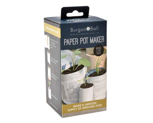 Pot maker - newspaper pot maker