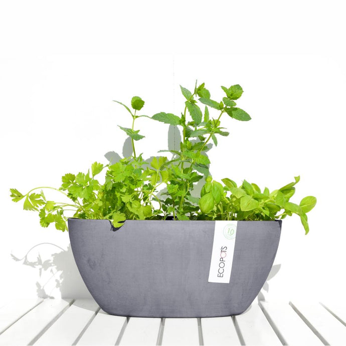 ECOPOTS | Sofia Plant Pot - Blue Grey