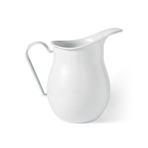 FALCON ENAMELWARE | 14cm Small Water Pitcher - White