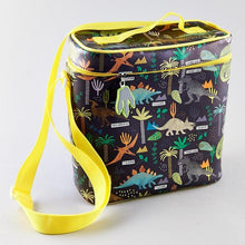 Load image into Gallery viewer, FLOSS & ROCK UK  Insulated Lunch Bag- Dinosaur Jungle