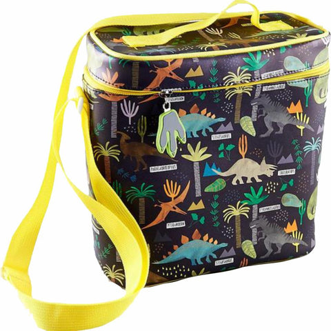 FLOSS & ROCK UK  Insulated Lunch Bag- Dinosaur Jungle