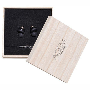 KREAFUNK | Agem Earphones - Black Packaging