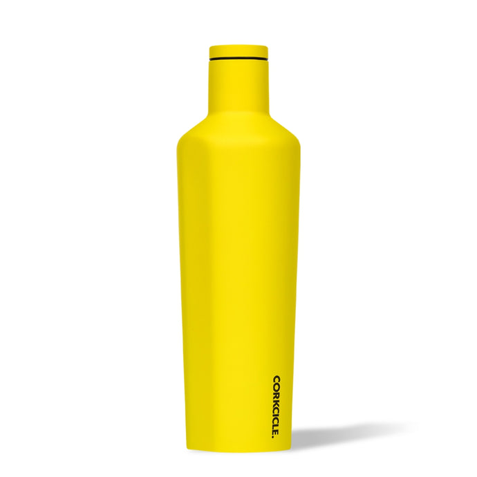 CORKCICLE | Stainless Steel Insulated Canteen 25oz (740ml) - Neon Yellow
