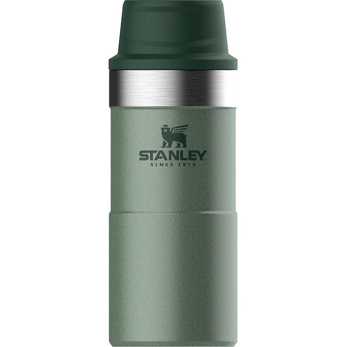 STANLEY | CLASSIC 350ml One Hand Travel Trigger Insulated Mug - Hammertone Green