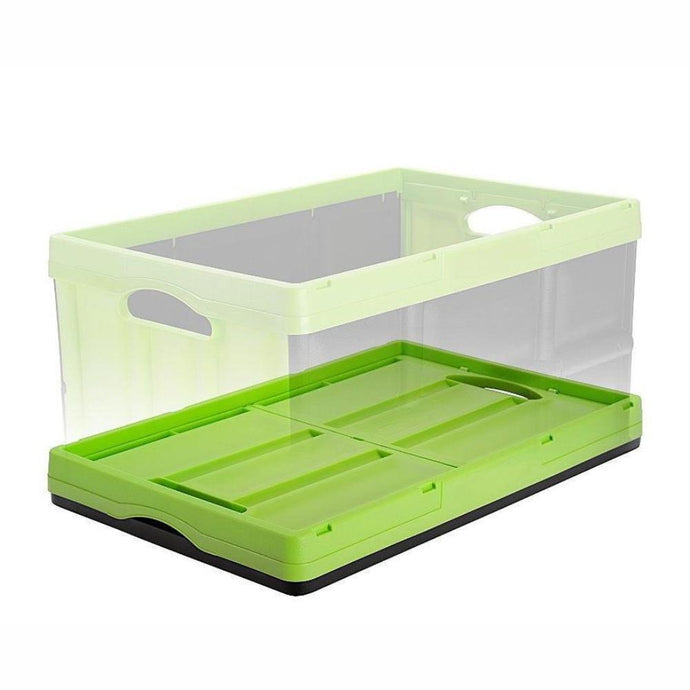 INSTACRATE™ by GREENMADE | Collapsible Crate - Lime Green