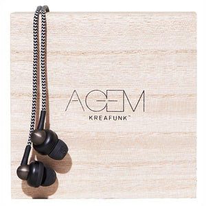 KREAFUNK | Agem Earphones - Black Featured