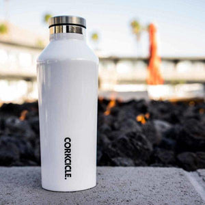 CORKCICLE | Canteen 60oz (1.75L) - White displayed