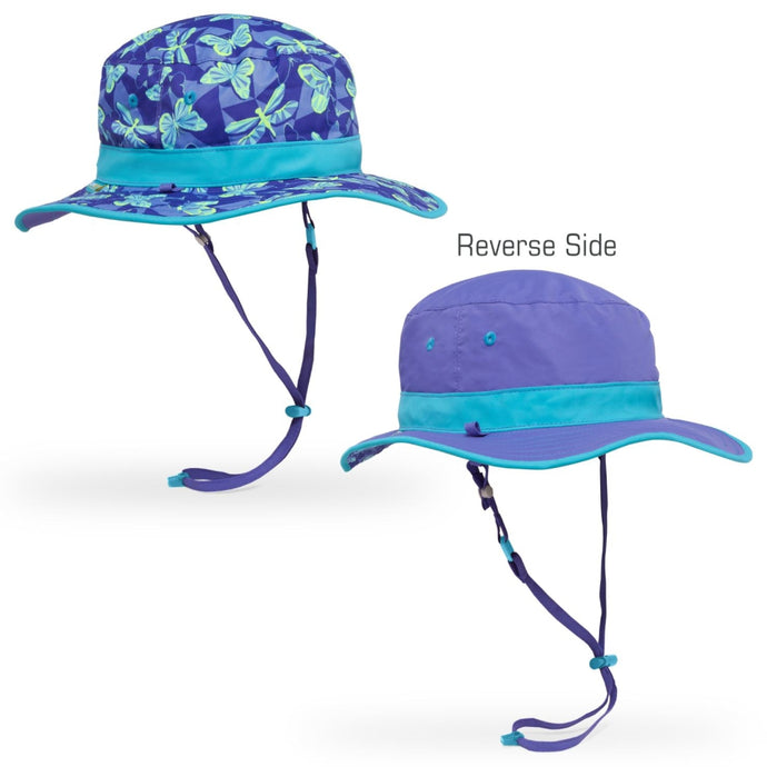 SUNDAY AFTERNOONS | Kids Clear Creek Boonie Hat - Butterfly Dream / Iris