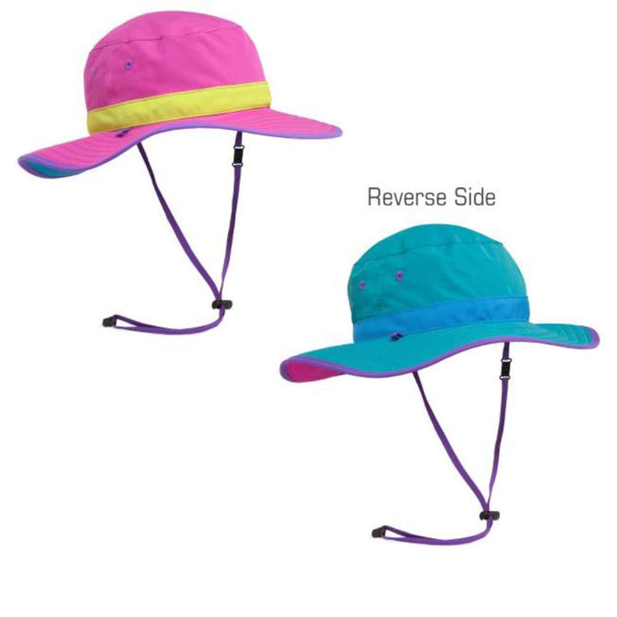 SUNDAY AFTERNOONS | Kids Clear Creek Boonie Hat - Vivid Magenta / Caribbean**LIMITED STOCK**