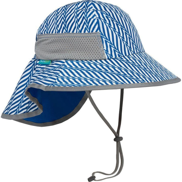 SUNDAY AFTERNOONS | Kids Play Hat - Blue Electric Stripe