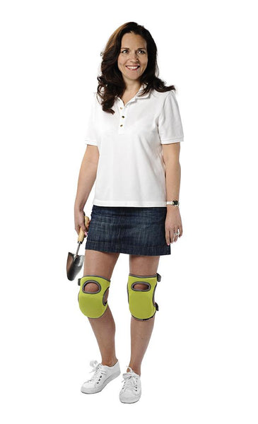 BURGON & BALL  |  Kneelo® Knee Pad - Eucalyptus in use