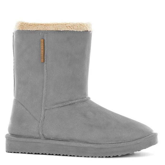 BLACKFOX | Cheyenne Adult Waterproof Fur Lined Outdoor Gumboot - Grey **Limited Stock**