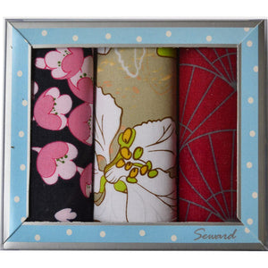SEWARD | Ladies Premier Handkerchiefs Set 3 - Lily