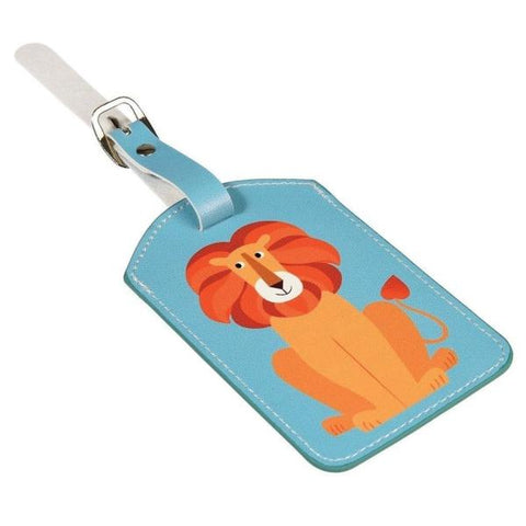 REX LONDON | Children's Luggage Tag - Lion
