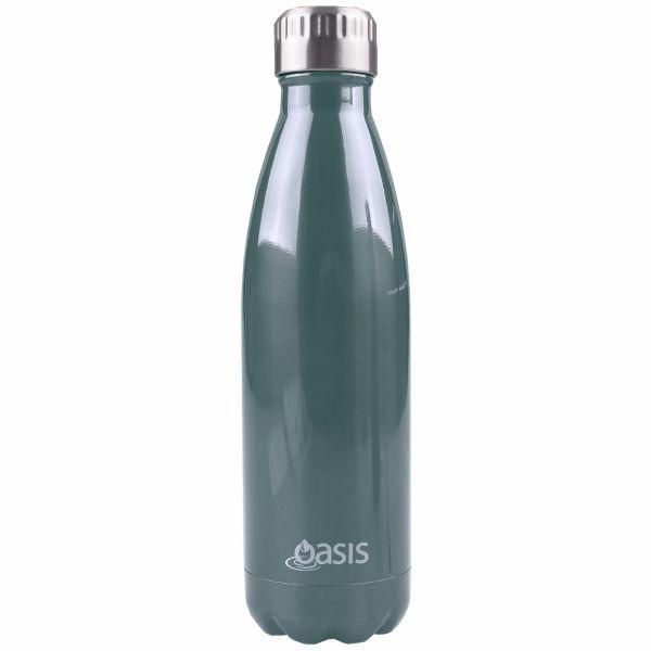 Oasis  |  Stainless Insulated Drink Bottle 750ml - Navy