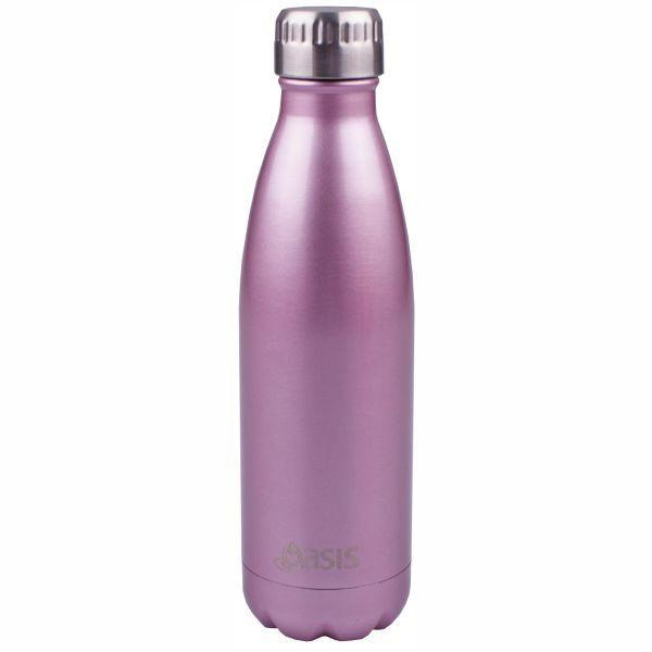 OASIS Drink Bottle 750ml Stainless Insulated - Blush