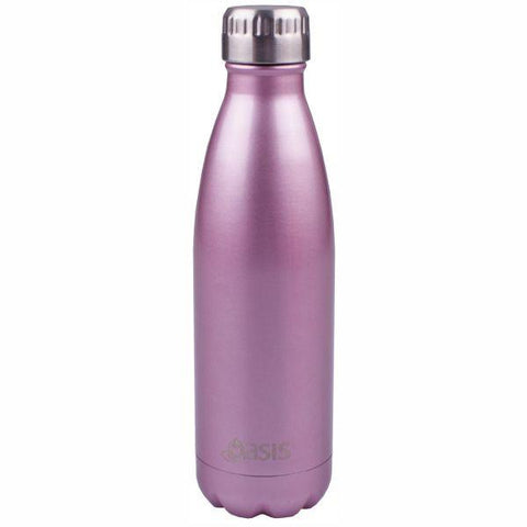 Oasis  |  Stainless Insulated Drink Bottle 750ml - Blush