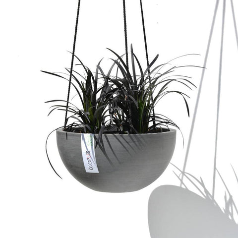ECOPOTS | Hanging Brussels - Blue Grey