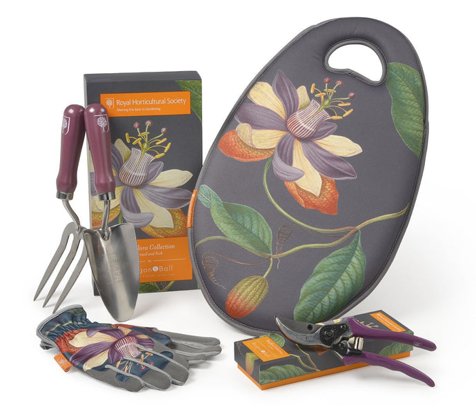 BURGON & BALL | Passiflora Botanical Art Gardeners Gift Set