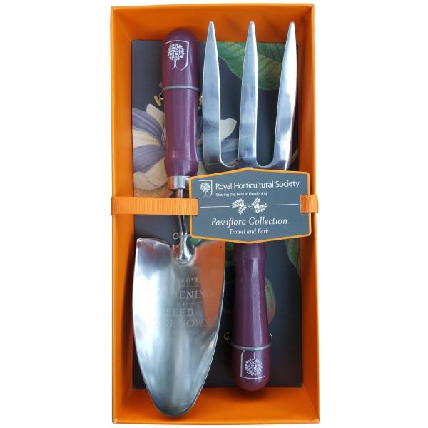 BURGON & BALL | Passiflora Trowel and Fork - RHS