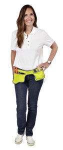 BURGON & BALL | Poc-kit Gardener's Utility Belt - Eucalyptus strapped on