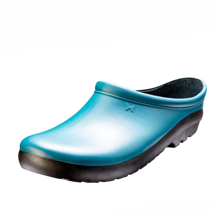 SLOGGERS  | Womens Premium Clogs - Deep Lake Blue