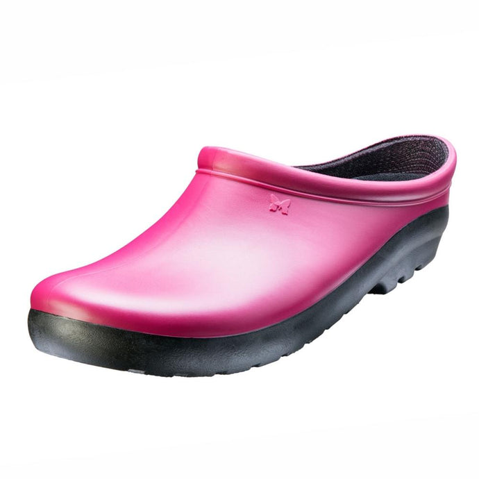 SLOGGERS  | Womens Premium Clogs -Sangria Red