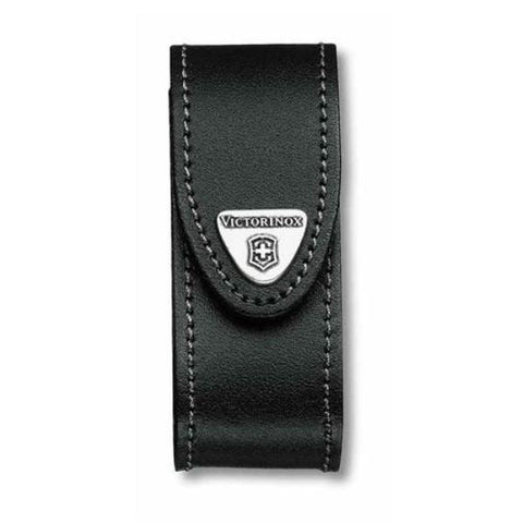 VICTORINOX  |  Leather Belt Pouch Large - Black  (05690)  4.0520.3