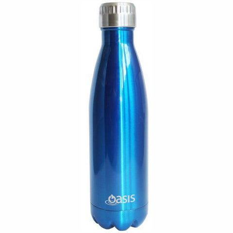 Oasis  |  Stainless Insulated Water Bottle 750ml - Aqua Blue