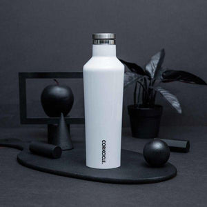 CORKCICLE | Canteen 16oz (470ml)- White displayed