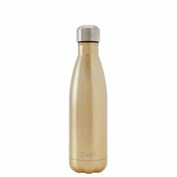 S'Well | Insulated Bottle GLITTER Collection 500ml - Sparkling Champagne