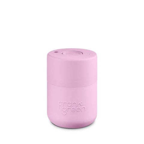 FRANK GREEN Original Insulated Coffee Cup 8oz / 230ml - Pink Lavender
