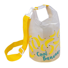 Load image into Gallery viewer, SUNNYLIFE | Kids Bucket Bag SMALL - CHASING SUMMER - Bananas