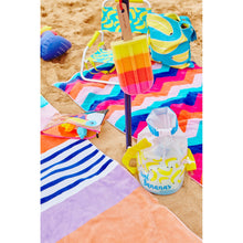 Load image into Gallery viewer, SUNNYLIFE | Kids Bucket Bag SMALL - CHASING SUMMER - Bananas on the beach