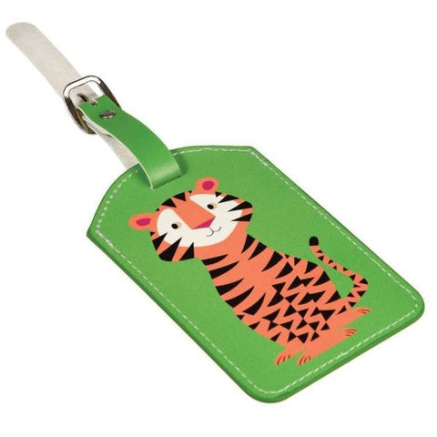 REX LONDON | Children's Luggage Tag - Tiger