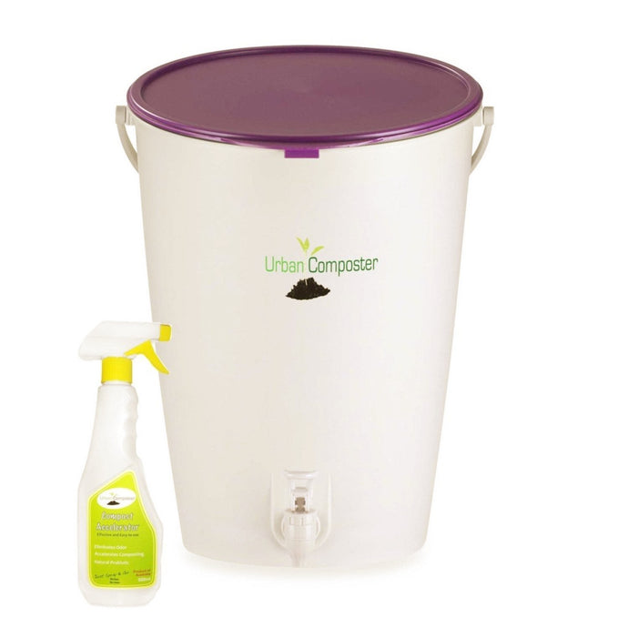 URBAN COMPOSTER™ |   'Bucket' Beginner's Kit 15L - Berry
