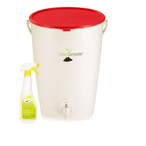 URBAN COMPOSTER™  |   'Bucket' Beginner's Kit 15L - Chilli