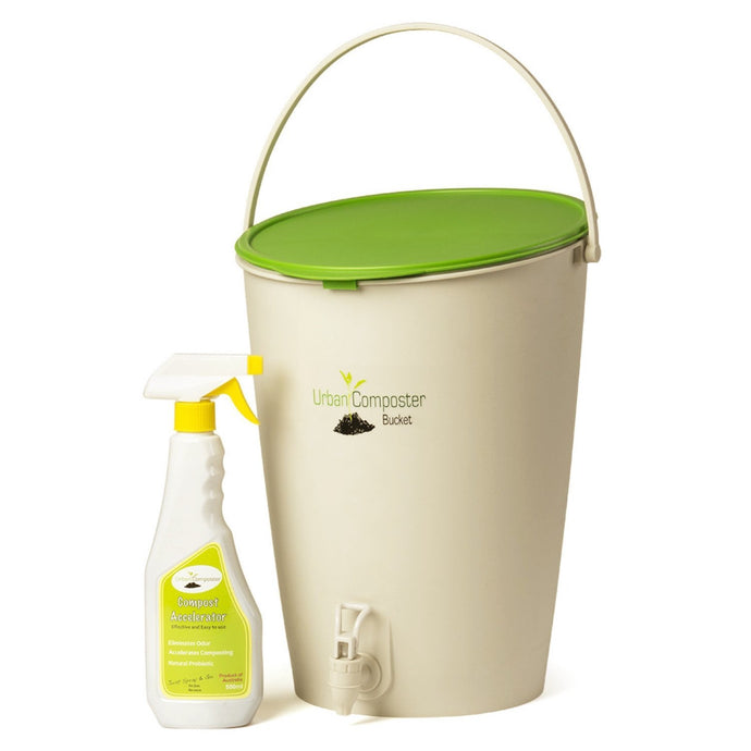 URBAN COMPOSTER™  |   'Bucket' Beginner's Kit 15L - Lime