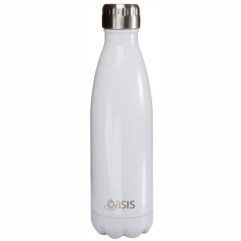 Oasis  |  Stainless Insulated Water Bottle 750ml - White
