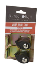 Load image into Gallery viewer, BURGON & BALL | Wide Tool Rack Clips - 2 Pack