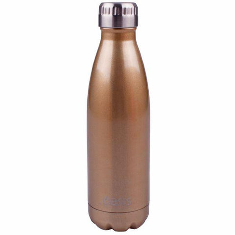 Oasis  |  Stainless Insulated Drink Bottle 750ml - Champagne