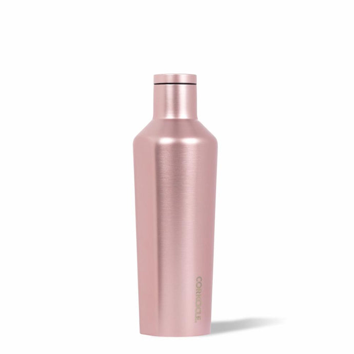 CORKCICLE | Stainless Steel Insulated Canteen 16oz (470ml) - Metallic Rose