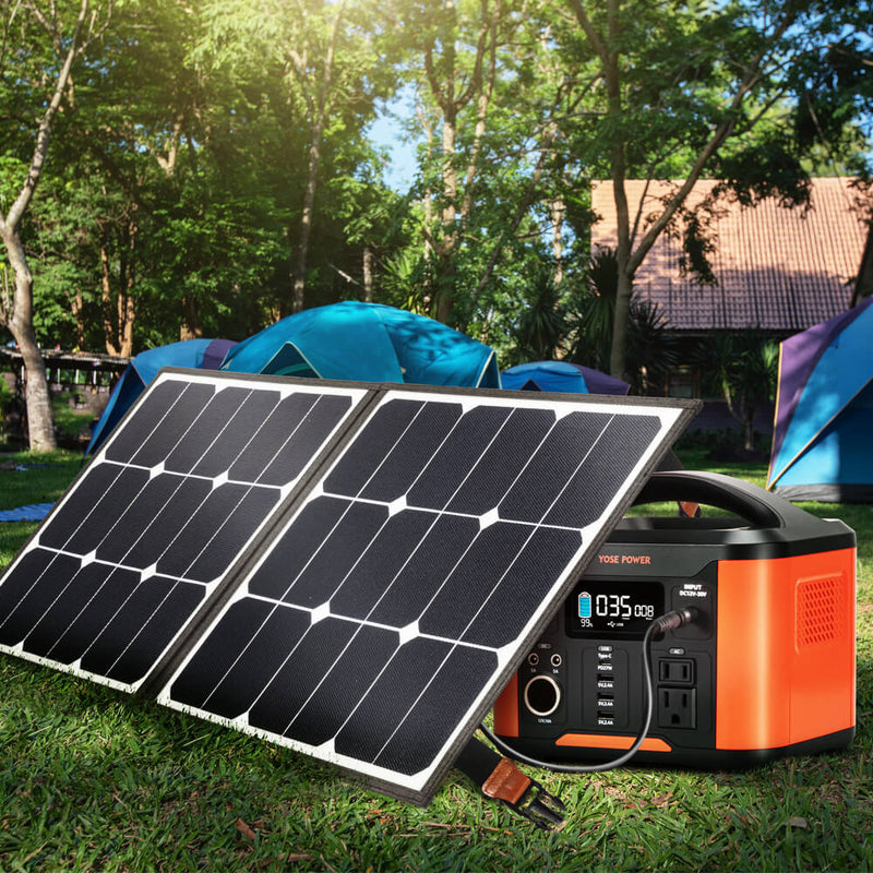 60W Portable Foldable Solar Panel Solar Panel Solar Charger Portable Powerstation