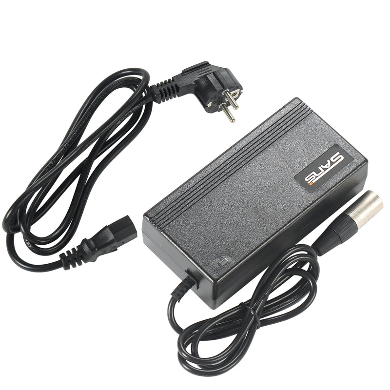 Electric Bike Battery Charger with 3-PINS Plug
