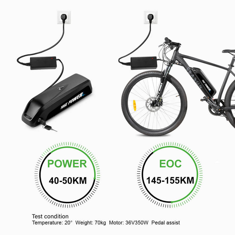 36V12.5Ah Rear Ebike Battery