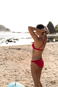 Agos Eco Tri Sport Bottom (Red) - KS Boardriders | Philippines Online Branded Clothes & Surf Shop