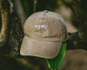 Agos Standard Dad Cap (Tan) - KS Boardriders | Philippines Online Branded Clothes & Surf Shop