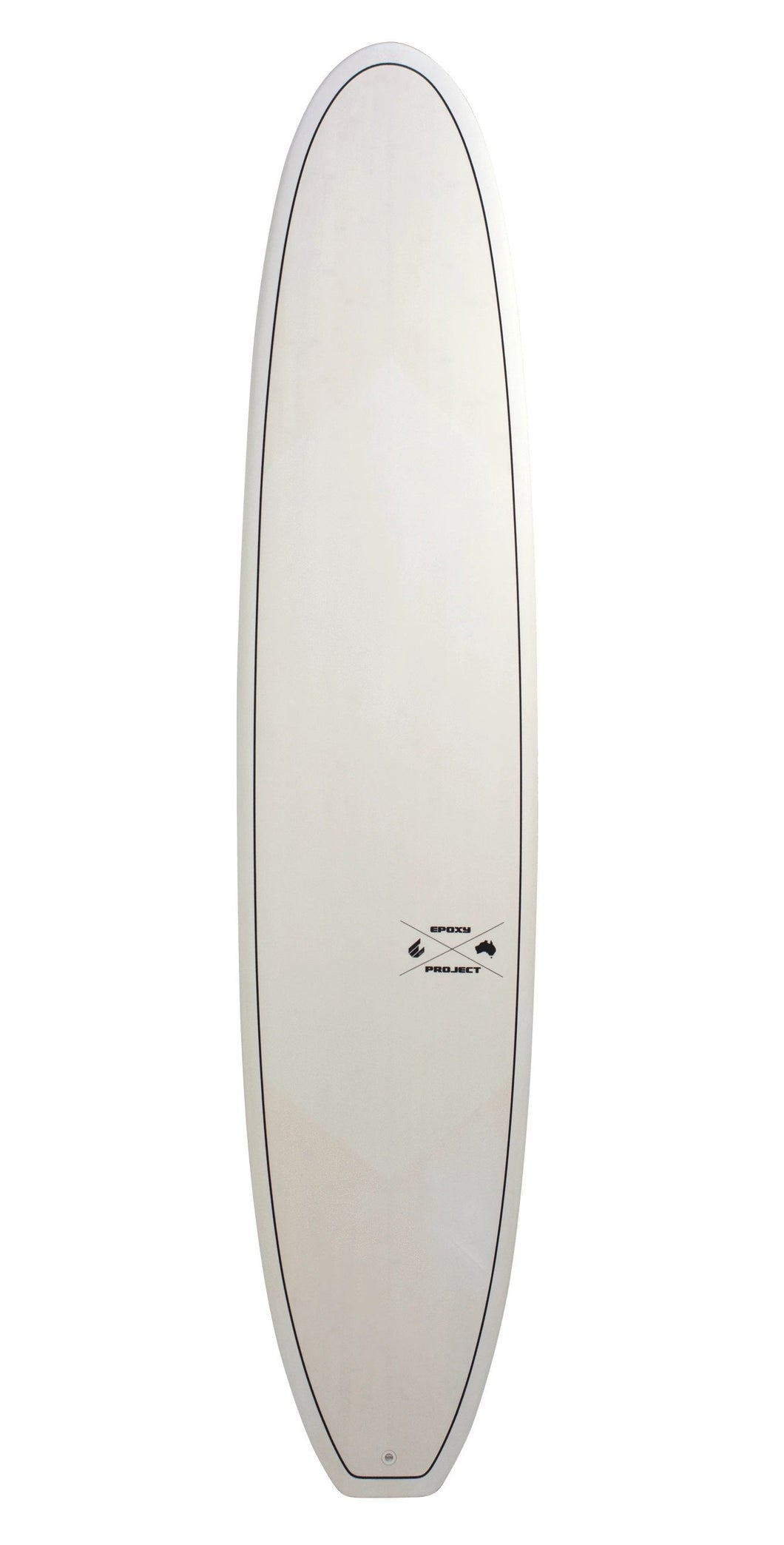 ECS 9'6 Canggu Log Surfboard White - KS Boardriders | Philippines Online Branded Clothes & Surf Shop